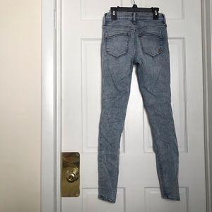 Express Jeans - Express Performance acid wash kid ride skinnyjeans